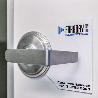 special purpose RF shielded door